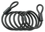 "6' Long, 1/4"" Diameter Self-Coiling Cable by Master Lock"