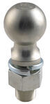 "Hitch Ball with 2-5/16"" Diameter and Medium Shank, 12,000 lbs GTW - Zinc"