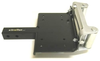 Draw Tite Hitch >> Front Mount Trailer Hitch Receiver Winch Mounting Plate Draw-Tite Accessories and Parts 6495