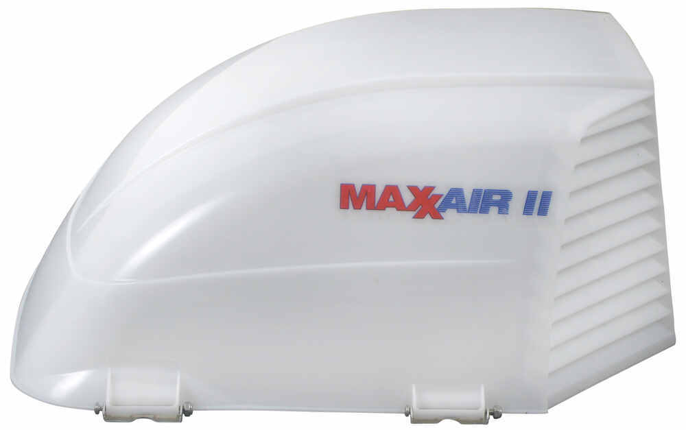 Maxxair Ii Rv And Enclosed Trailer Vent Cover White