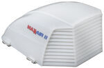 MaxxAir II RV and Enclosed Trailer Vent Cover - White
