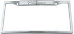 Cadillac Stainless Steel License Plate Frame - Cadillac Logo on Top