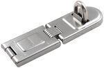 "Master Lock Contractor Grade Single-Hinged Hasp - 6-1/4"" Long"