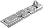 "Master Lock Contractor Grade Double-Hinged Hasp - 7-3/4"" Long"