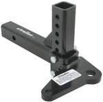 Ball Mount Adjustable with Sway-Control Tab, 6,000 lbs
