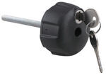 Replacement Locking Hand Knob with Key for Thule Spare Me Spare-Tire-Mounted Bike Carrier