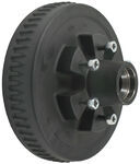 Trailer Hub and Drum Assembly - 5,200-lb Axles - 6 on 5-1/2 - E-Z Lube