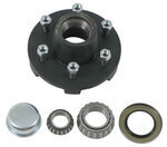 Trailer Hub Assembly - 5,200-lb and 6,000-lb Axles - 6 on 5-1/2