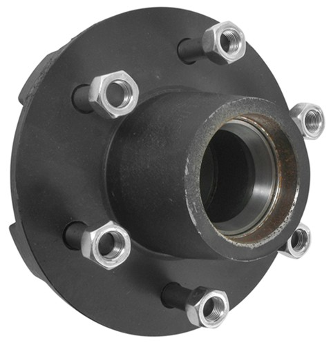Trailer Hub Assembly - 5,200-lb and 6000-lb Axles - 6 on 5 ...