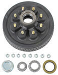 "Trailer Hub and Drum Assembly - 5,200-lb to 7,000-lb Axles - 8 on 6-1/2 - 9/16"" Studs"