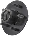 "Trailer Hub Assembly for 12"" to 15"" Wheels - 2,000-lb Axles - 5 on 4-1/2 - L44643 Bearings"