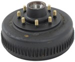 Trailer Hub and Drum Assembly - 7,200-lb Axles - 8 on 6-1/2 - 4 Bolt Flange