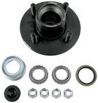 Trailer Hub Assembly - 2,000-lb Axles - 4 on 4 - L44649 Bearings - E-Z Lube
