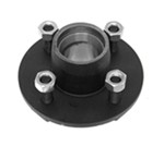 Trailer Hub Assembly - 2,000-lb Axles - 4 on 4 - L44649 Bearings