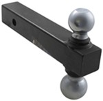 "2"" and 2-5/16"" Reversible Ball Mount (Chrome)"