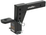 "Ball Mount Adjustable Fits 2"" Trailer Hitch Receiver, 14"" Long"