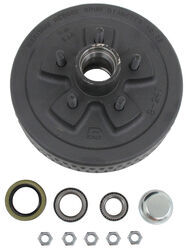 Trailer Hub and Drum Assembly - 3,500-lb Axles - 5 on 4-1/2