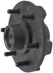 Trailer Hub Assembly - 3,500-lb Axles - 6 on 5-1/2