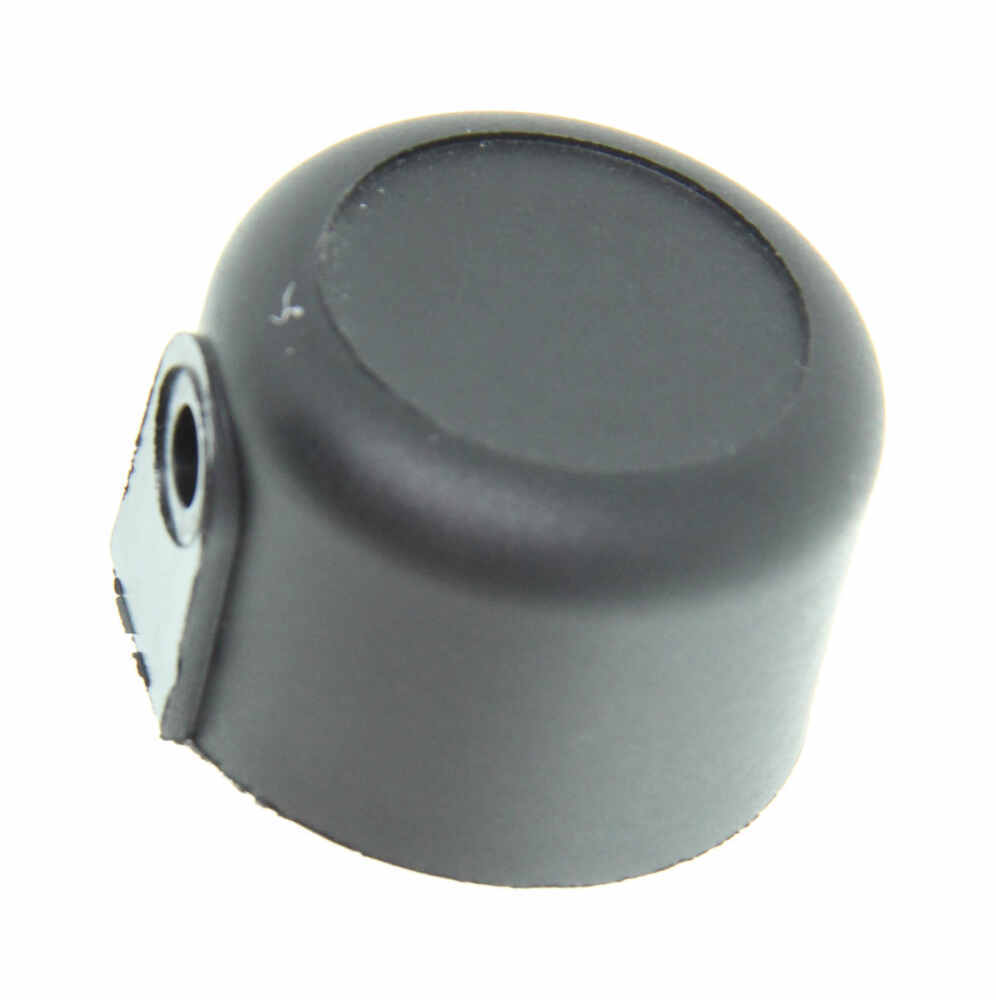 Replacement round tube end cap for thule bike