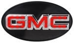 "GMC LED Brake and Tail Light Trailer Hitch Cover - 1-1/4"" and 2"" Hitches"