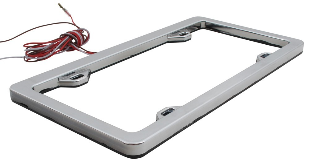 Lighted License Plate Frame - Proga | Info