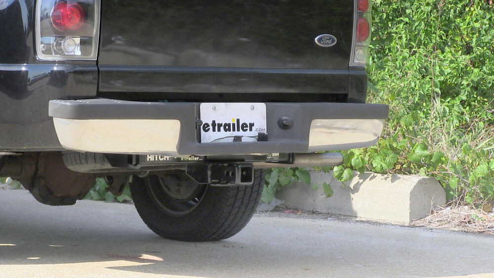 Hidden hitch trailer hitch receiver custom fit class iii 2