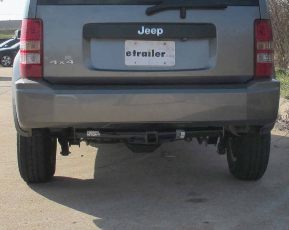 trailer hitch for 2008 jeep liberty hidden hitch 87450. Black Bedroom Furniture Sets. Home Design Ideas