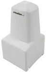 Replacement White Conical Cover for Atwood Power Jack