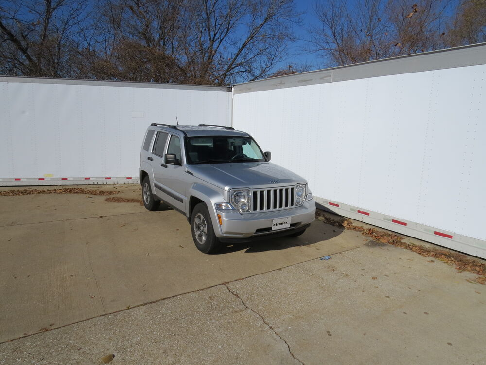 hidden hitch trailer hitch for jeep liberty 2011 90168. Black Bedroom Furniture Sets. Home Design Ideas