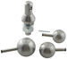 "Convert-A-Ball Interchangeable Ball Set - 3 Balls - 1"" Shank - Stainless"