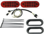 LED Light Kit for Draw-Tite, Tow Ready, and Rola Railed Cargo Carriers