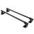 SportRack Frontier Semi-Custom Roof Rack for Naked Roofs - Square Crossbars - Steel - 45-1/2""