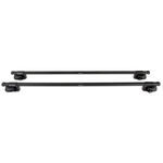DISCONTINUED - SportRack Frontier Roof Rack for Raised, Factory Side Rails - Square Crossbars - Stee