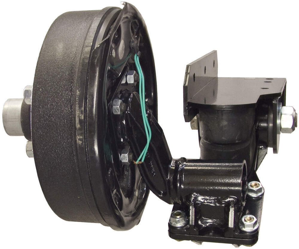 Trailer Hubs And Spindles : Timbren axle less trailer suspension system w electric