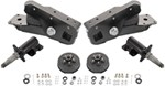Timbren Axle-Less Trailer Suspension System w Electric Brake Hubs - Straight Spindle - 3,500 lbs