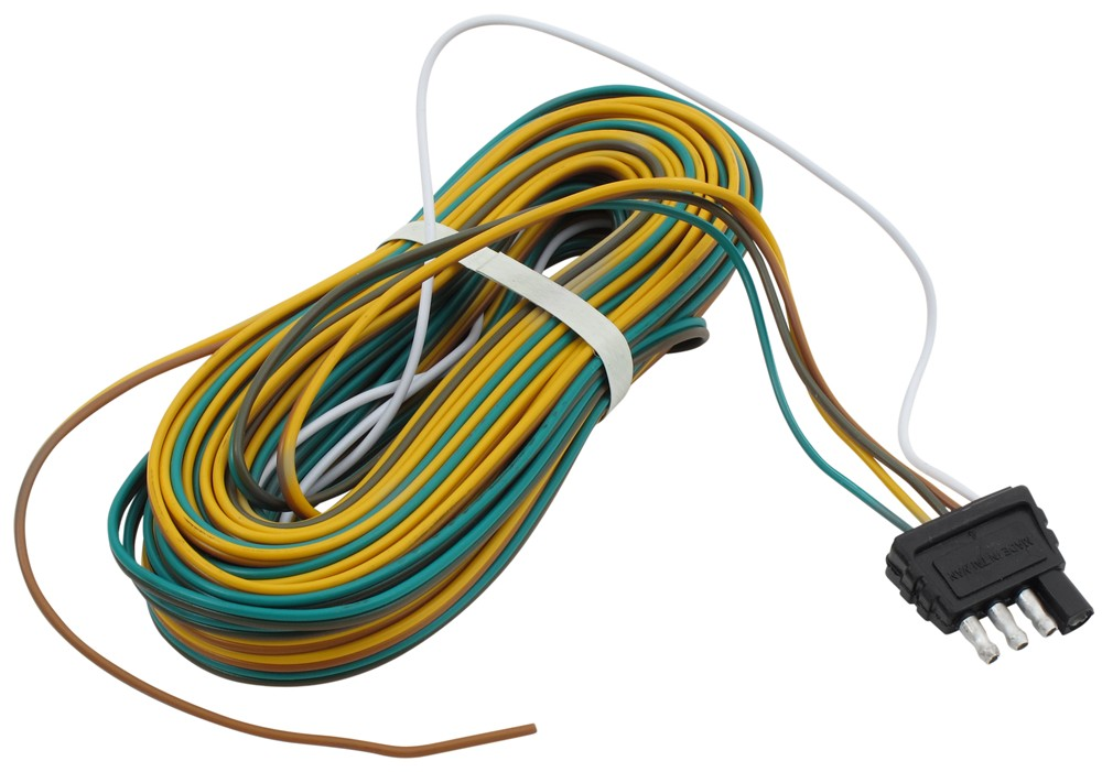 35 ft. Wishbone 4-Way Trailer Wiring Harness with 42 ...