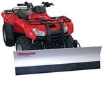 "Agri-Cover SnowSport All-Terrain Snowplow Kit for ATV - 60"" Blade/Kawasaki Plow Mount"