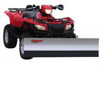"Agri-Cover SnowSport All-Terrain Snowplow Kit for ATV - 66"" Blade/Suzuki Plow Mount"