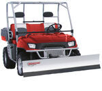 "Agri-Cover SnowSport All-Terrain Snowplow Kit for Mule 600/610 Series UTV - 66"" Blade"