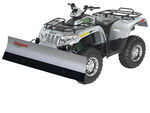 "Agri-Cover SnowSport All-Terrain Snowplow Kit for ATV - 66"" Blade/Arctic Cat Plow Mount"