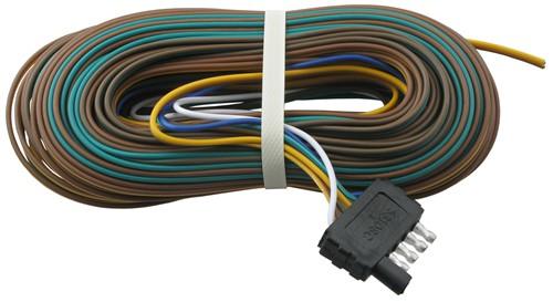 keeper trailer wiring harness compare 20 ft. wishbone vs 40 ft. wishbone | etrailer.com toyota highlander trailer wiring harness