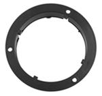 "Plastic Mounting Flange for 4"" Round Trailer Lights"