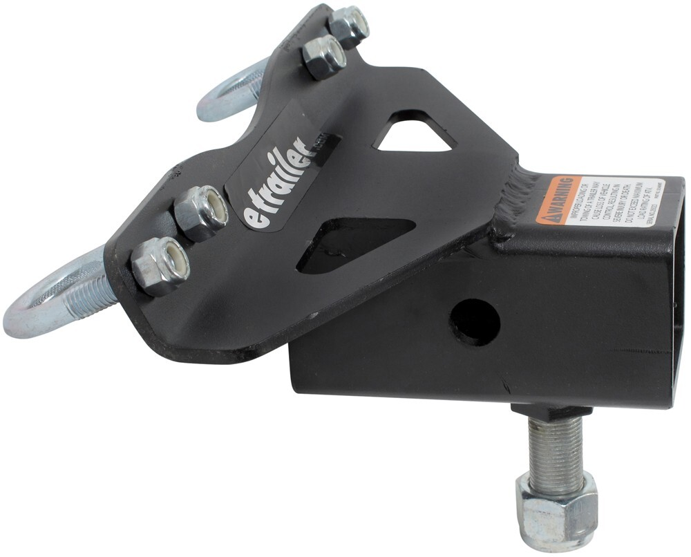 """Off Road ATV Receiver Trailer Hitch 2"""" 3 Way Ball Tow Hook ...  