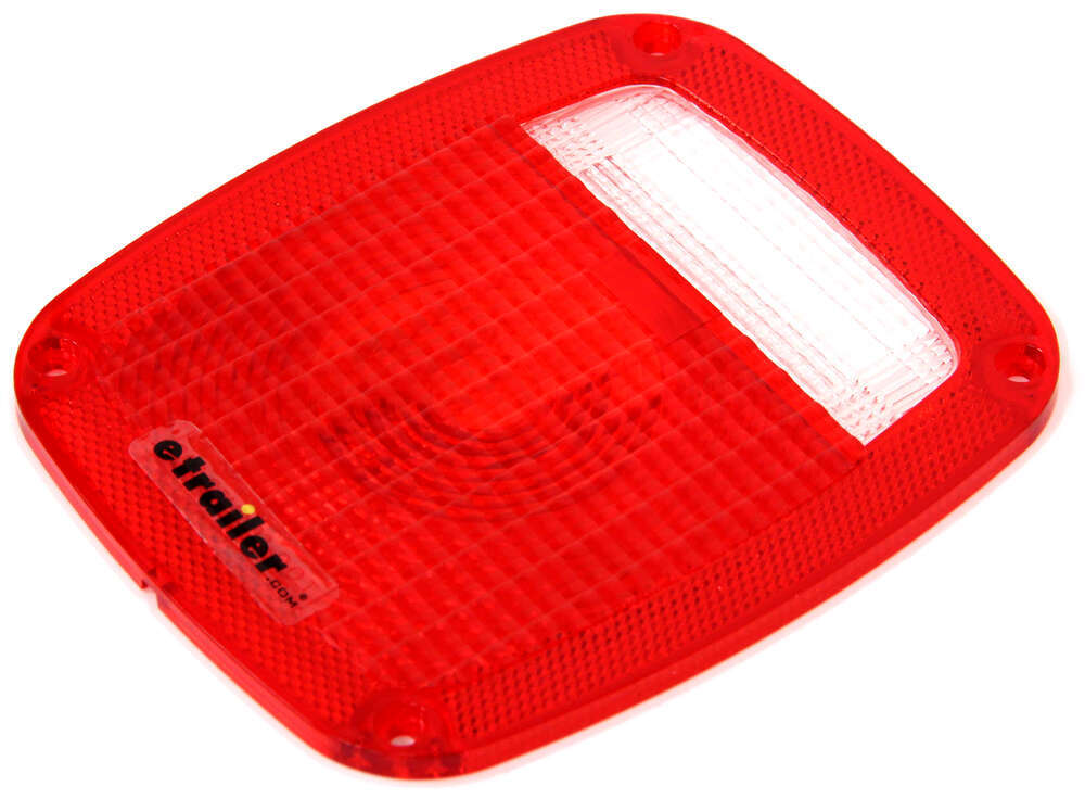 Trailer Tail Light Lens : Replacement tail light lens for st rb optronics