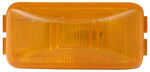 Sealed, Mini Rectangular Trailer Clearance and Side Marker Light - Amber