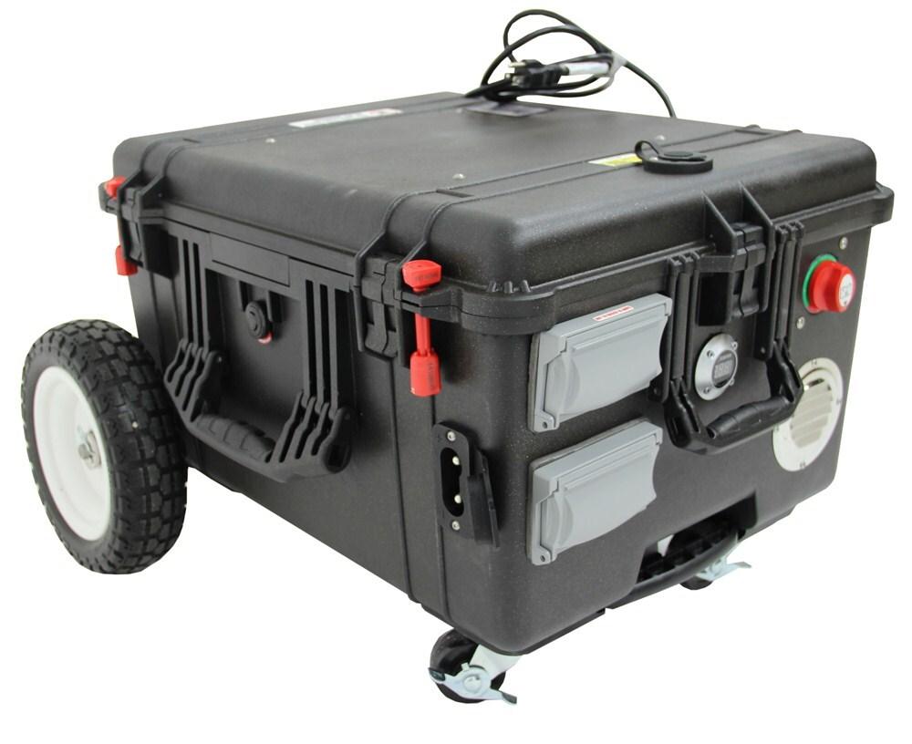 Portable Inverter Generator - Electric - 10,000 Watt - Solar Powered