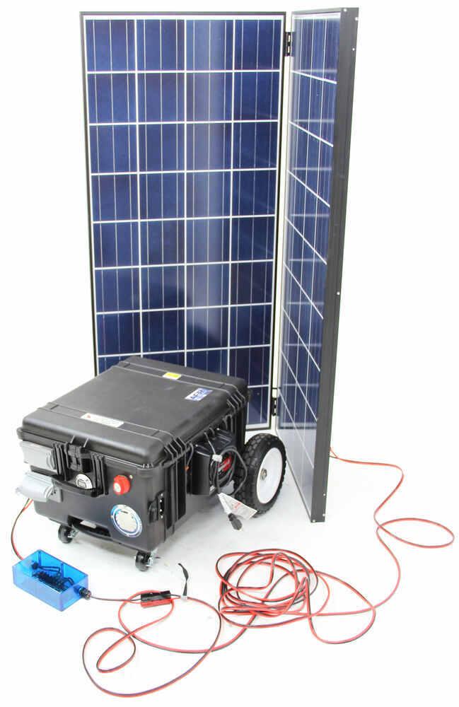 solar powered battery powered 6000 watts 110 volt only 115 volt output ...