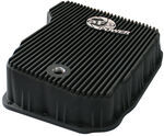 aFe Transmission Pan Cooler for Dodge Diesel Trucks - Black Fins