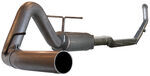 aFe Large-Bore HD Turbo-Back Exhaust System - Aluminized Steel - Off Road - Diesel