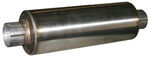 "aFe Straight-Through Muffler for 4"" Exhaust Systems - Stainless Steel - 8"" Body Diameter"